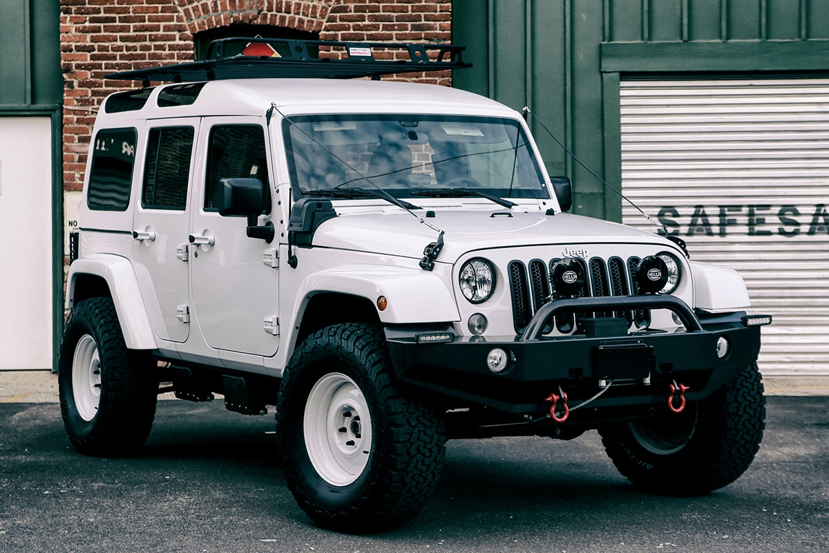 True North's Jeep Wrangler is the Ultimate Safari Vehicle