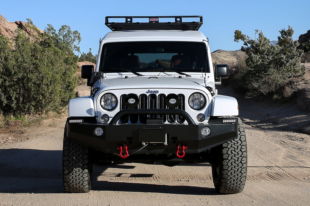 Truth North Jeep Wrangler front
