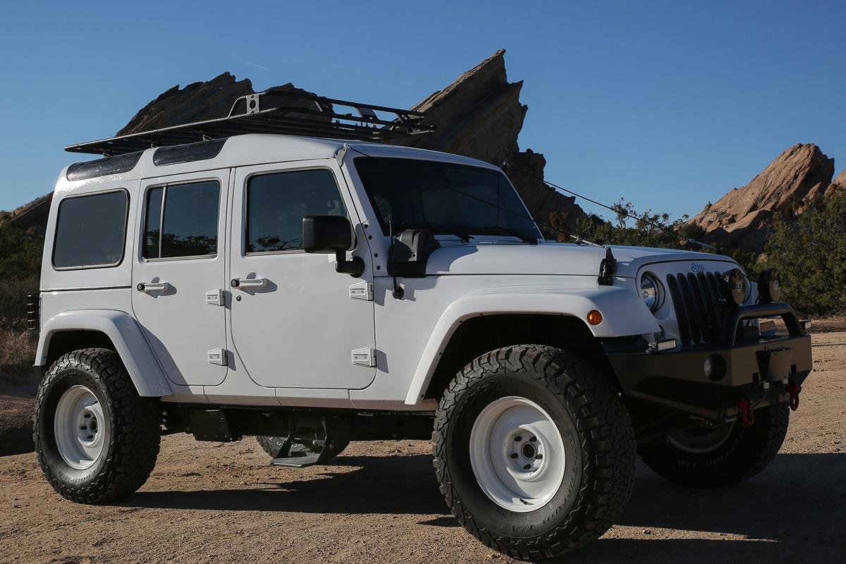 Правда North Jeep Wrangler правая сторона