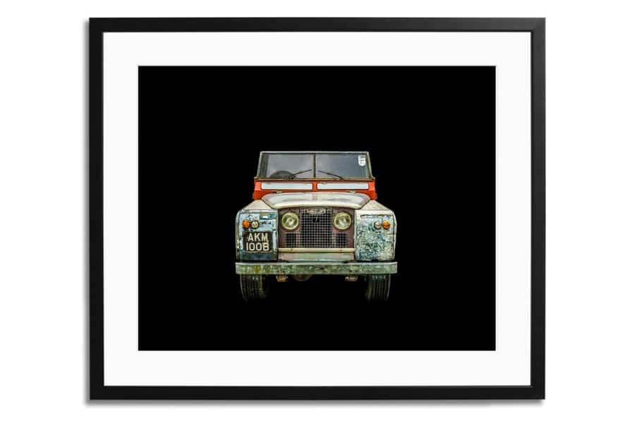 Land Rover Series II A Framed Print
