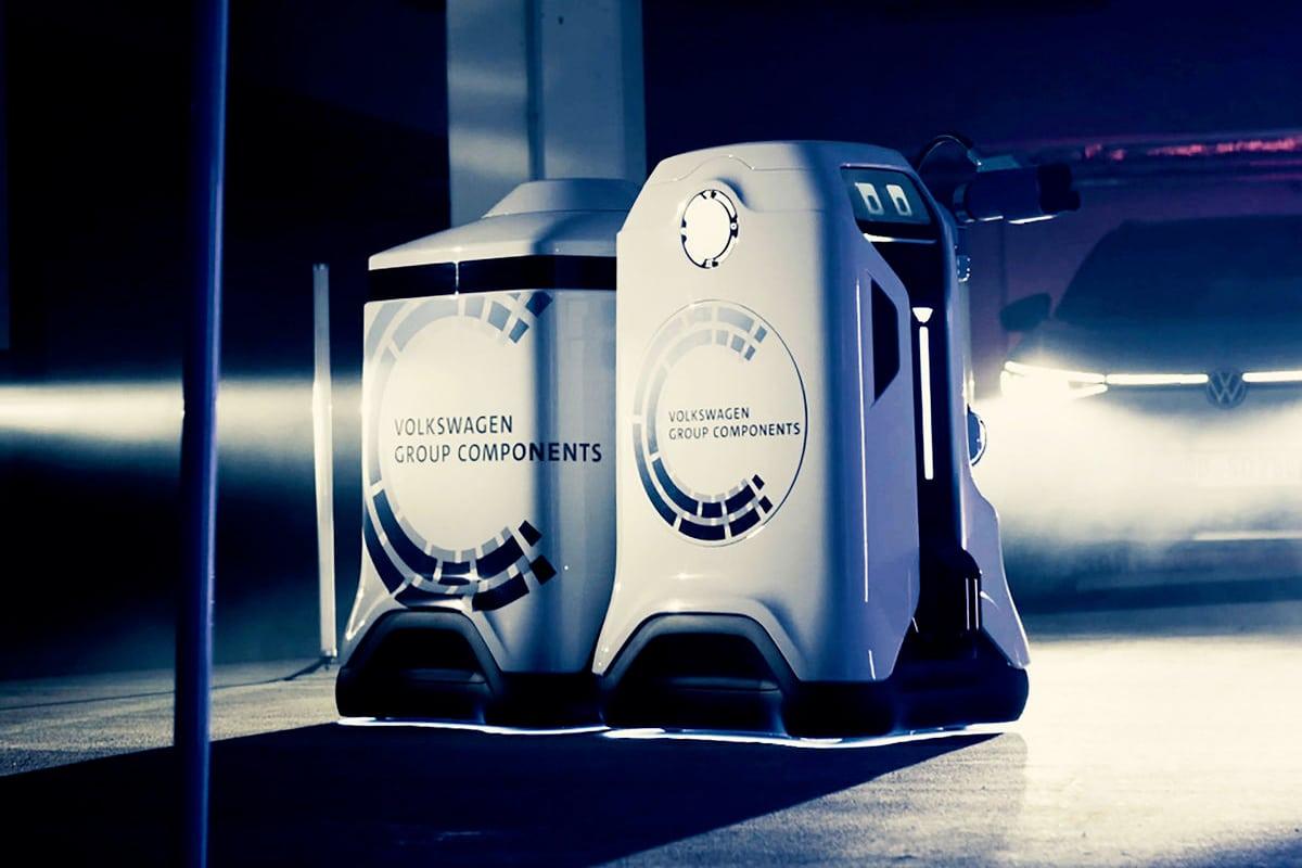 Volkswagen освобождает своих «дальновидных» электрических зарядных роботов |  Человек многих