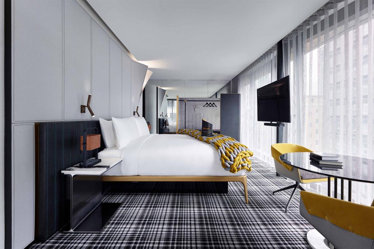 W Hotel Melbourne Bedroom 3