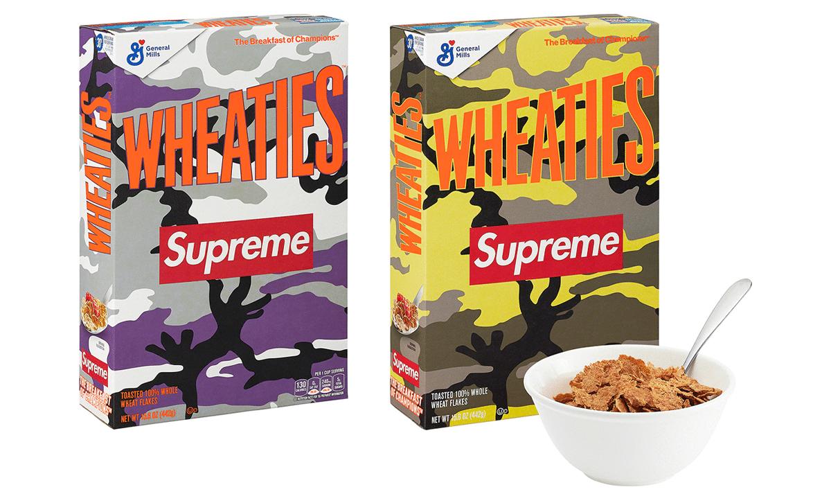 Wheaties Cereal Box