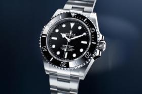 Rolex Submariner silver watch