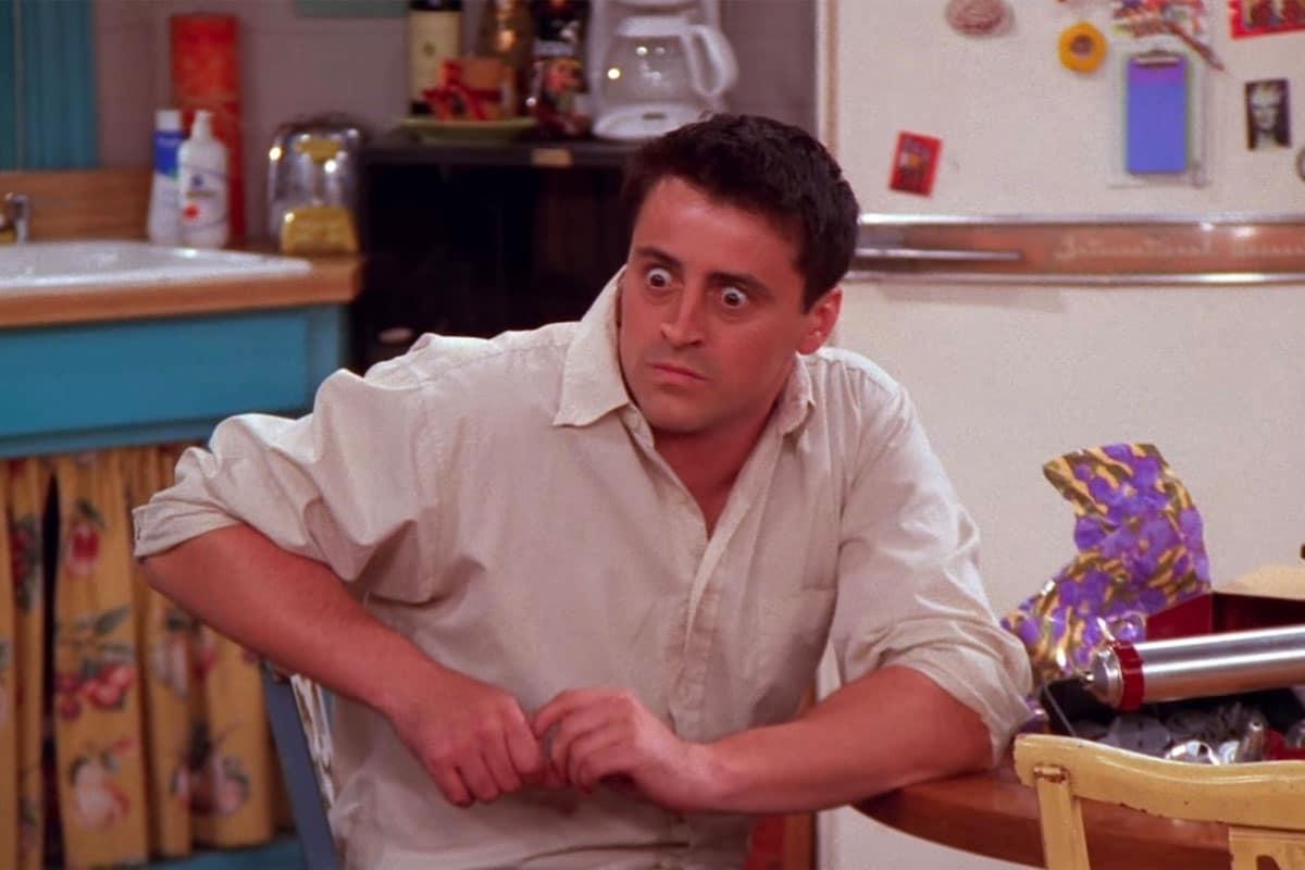 Joey surprised