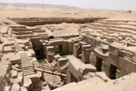 Ruins of oldest known brewery in Egypt