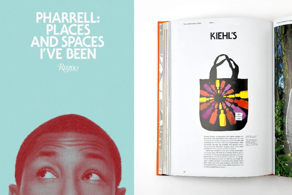 Pharrell places and spaces ive been