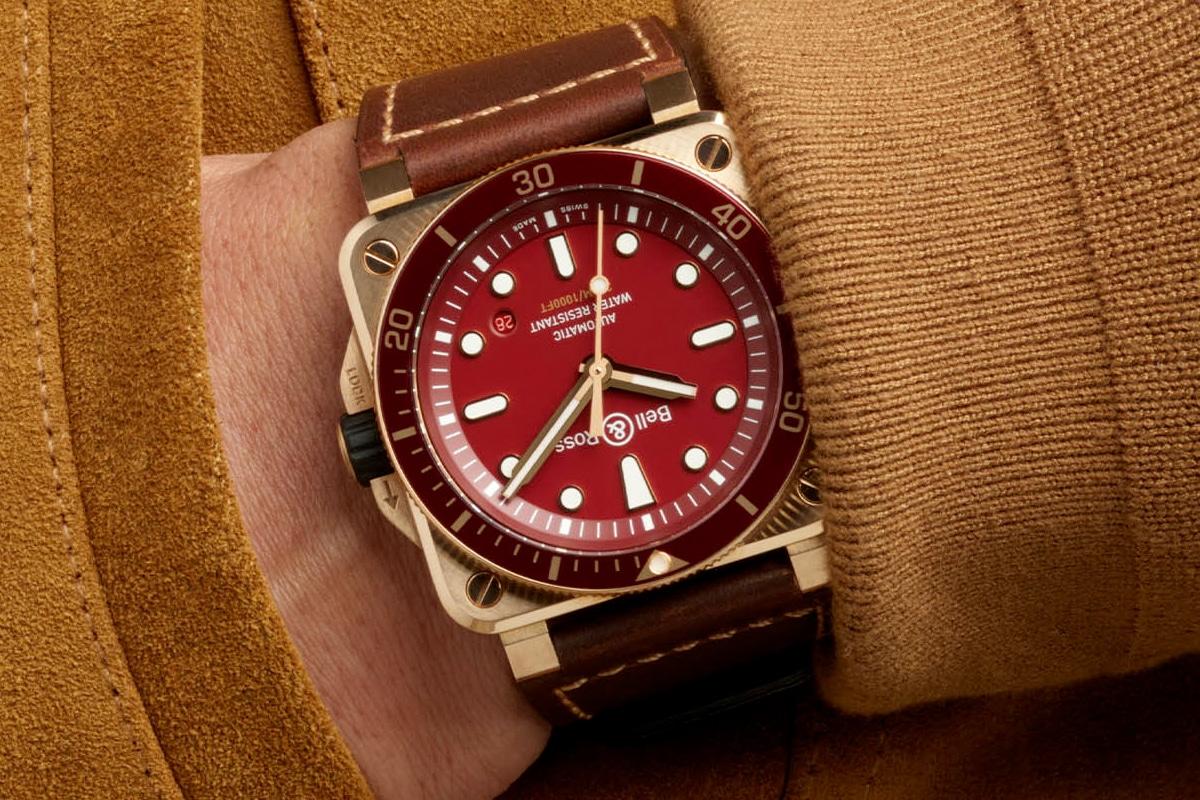 1 bell ross br 03 92 diver red bronze
