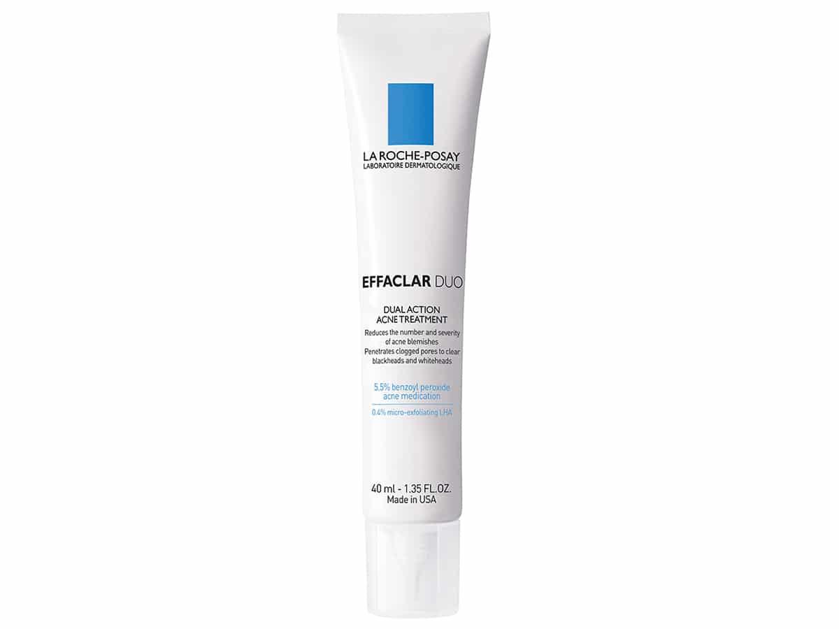 La Roche-Posay Effaclar Duo Dual Action Acne Treatment Cream with Benzoyl Peroxide