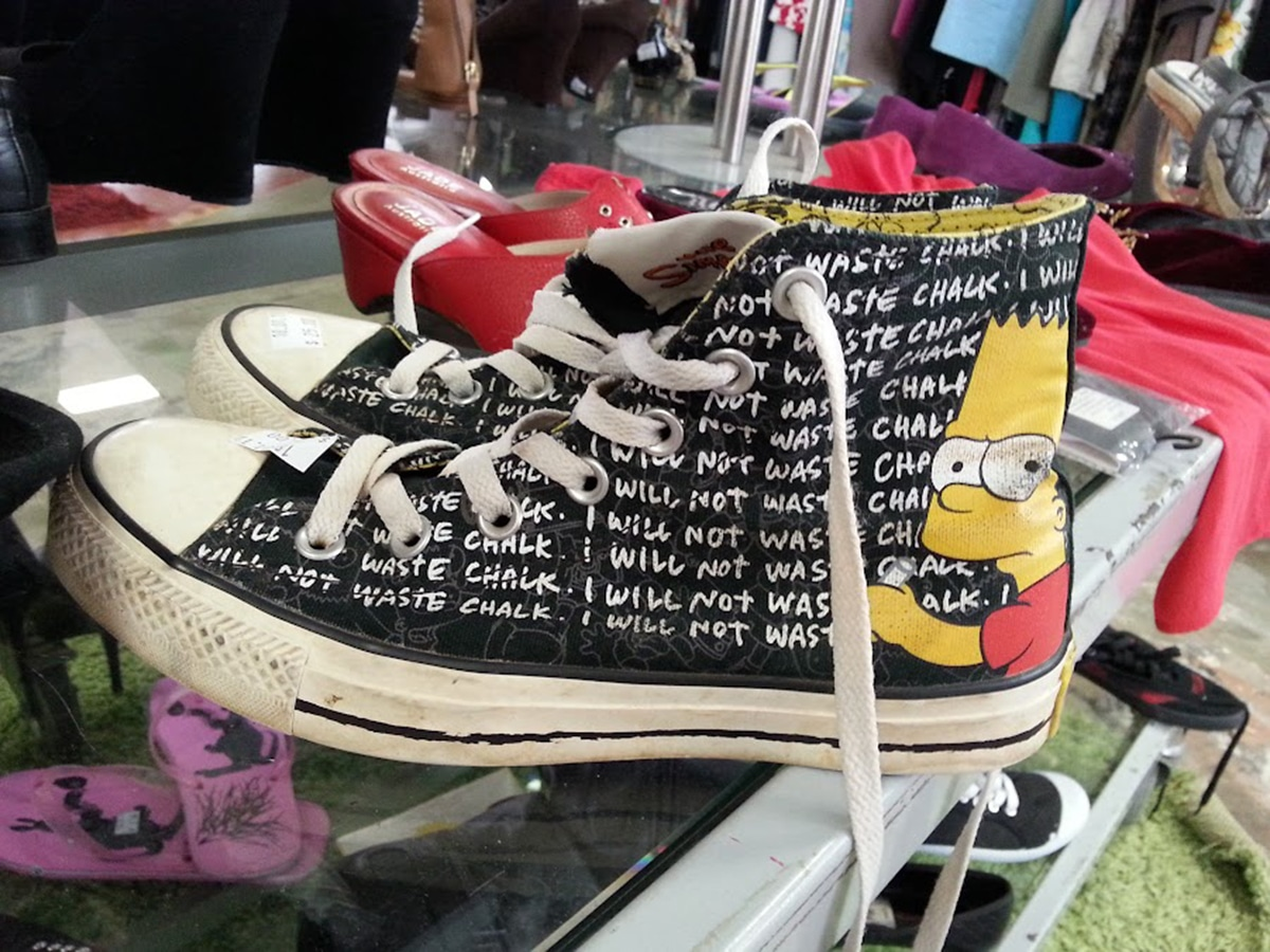 second hand shoes at salvos stores