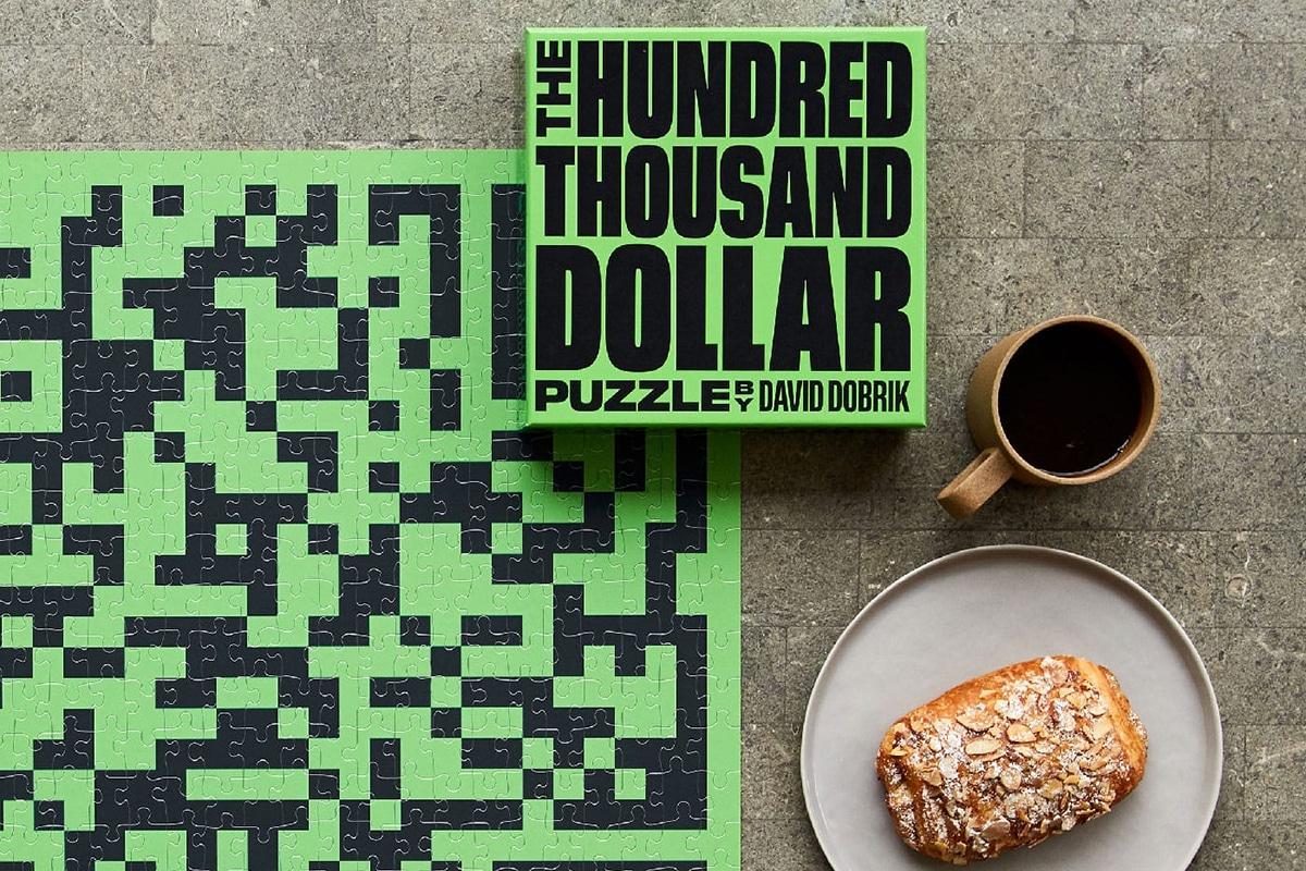 100k Puzzle big qr code