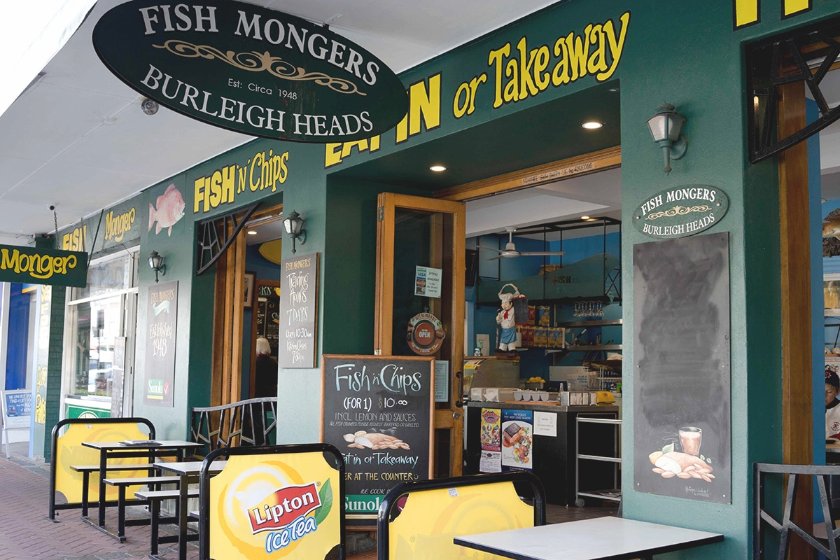 Spots for the Best Fish and Chips on the Gold Coast Burleigh Heads Fishmongers