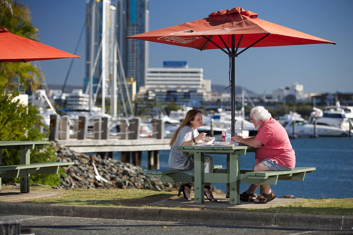 Spots for the Best Fish and Chips on the Gold Coast Peters Fish Market