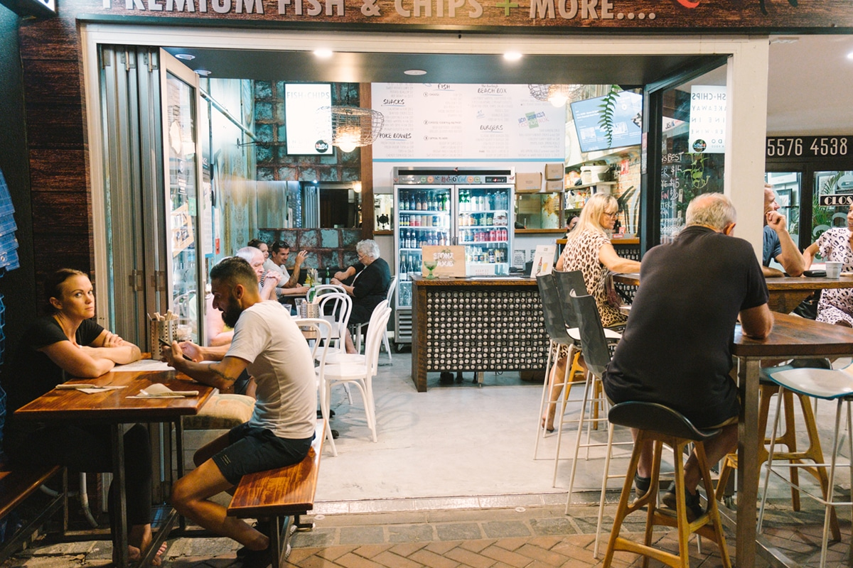 Spots for the Best Fish and Chips on the Gold Coast Red Hot Cod