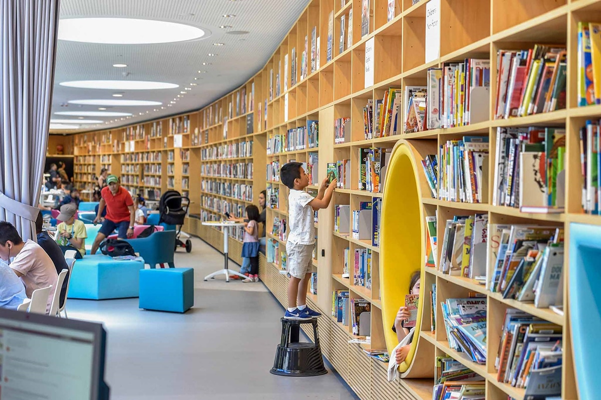 Best Libraries in Sydney Green Square