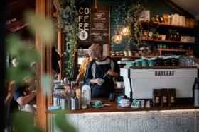 Bayleaf Cafe interior