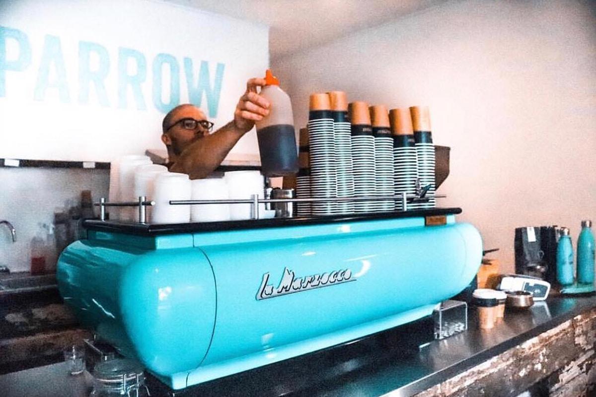 sparrow coffee interior