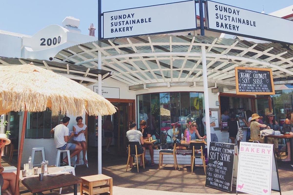sunday sustainable bakery outdoors exterior