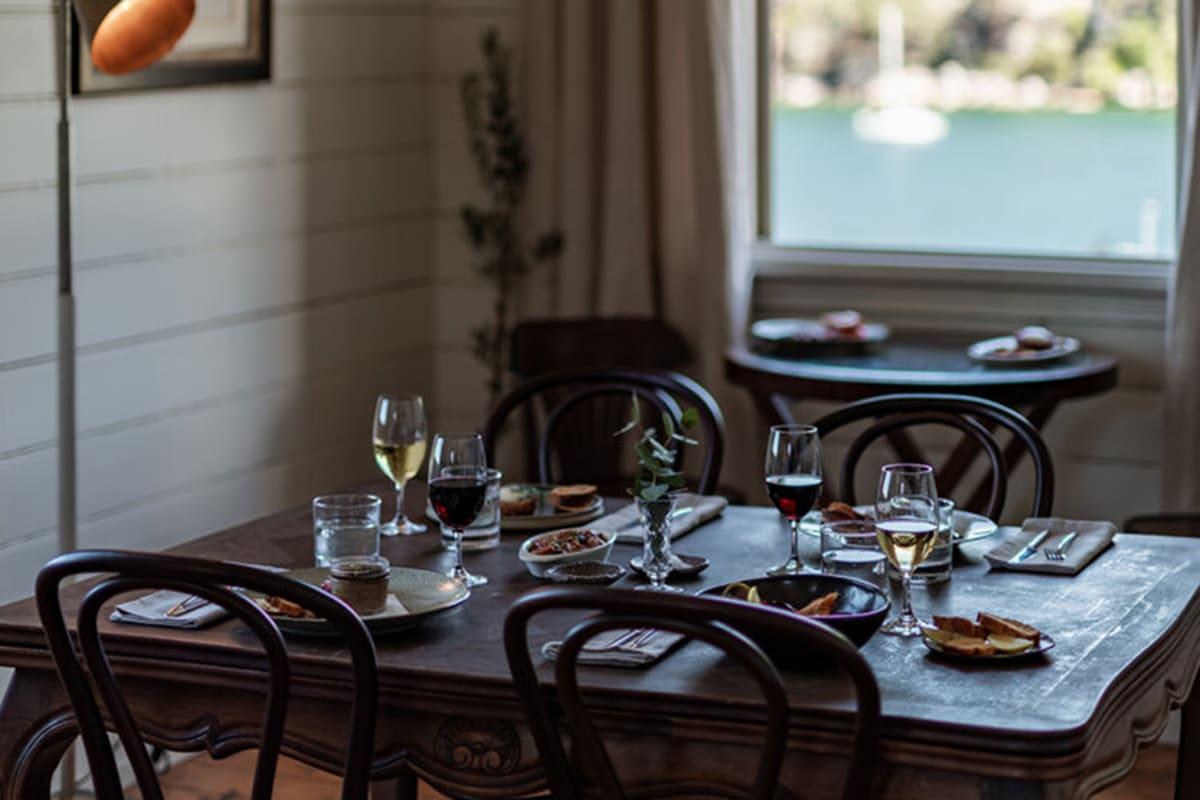 lheritage french restaurant interior