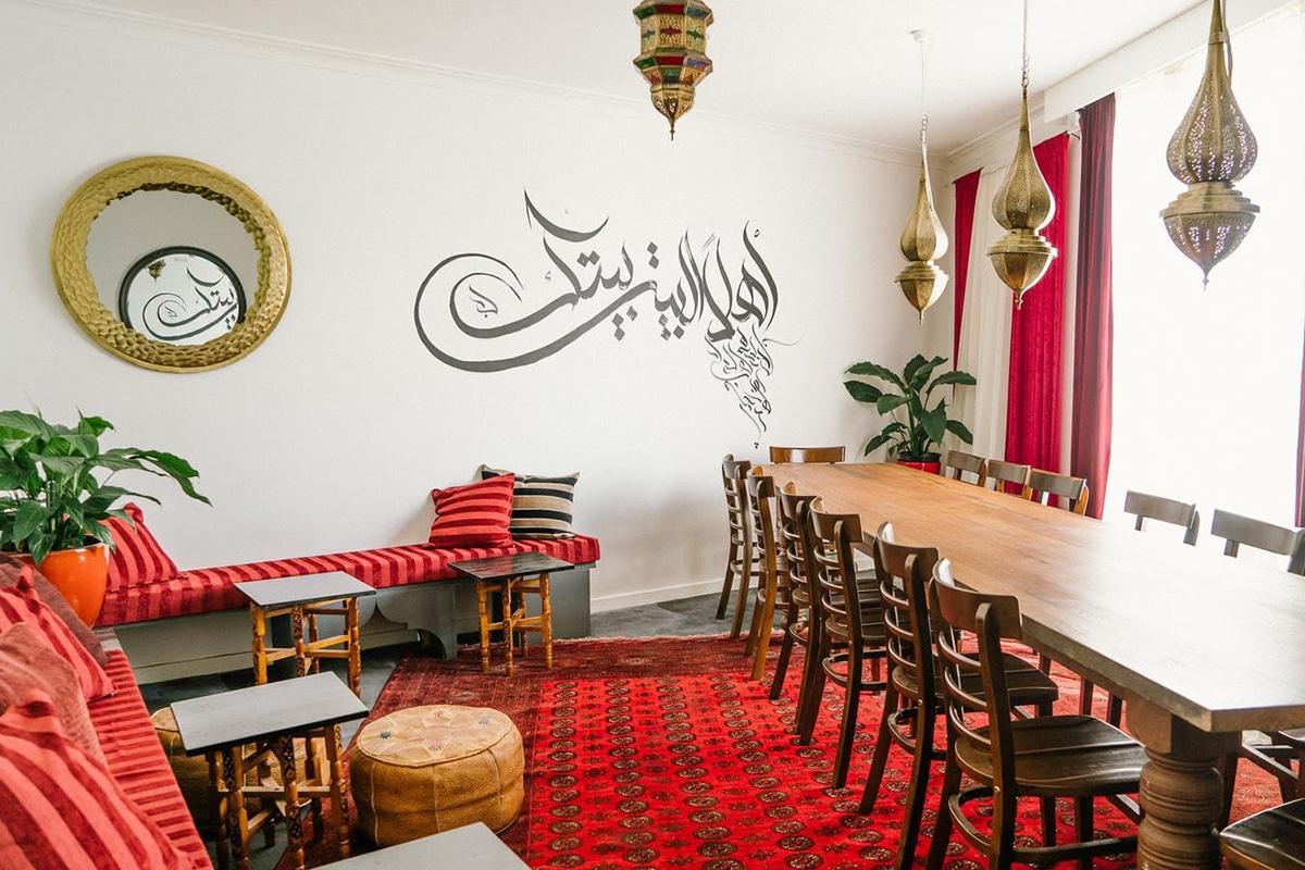 moroccan soup bar interior