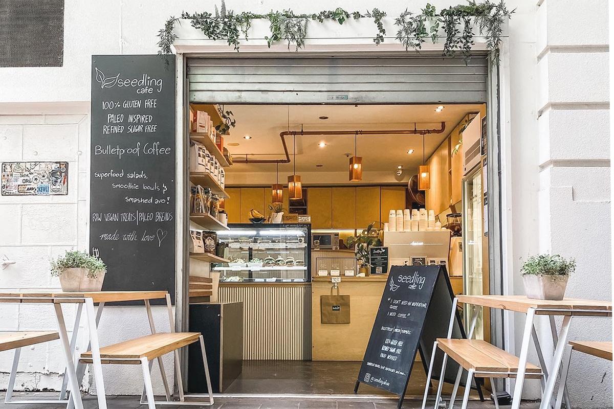 seedling cafe interior