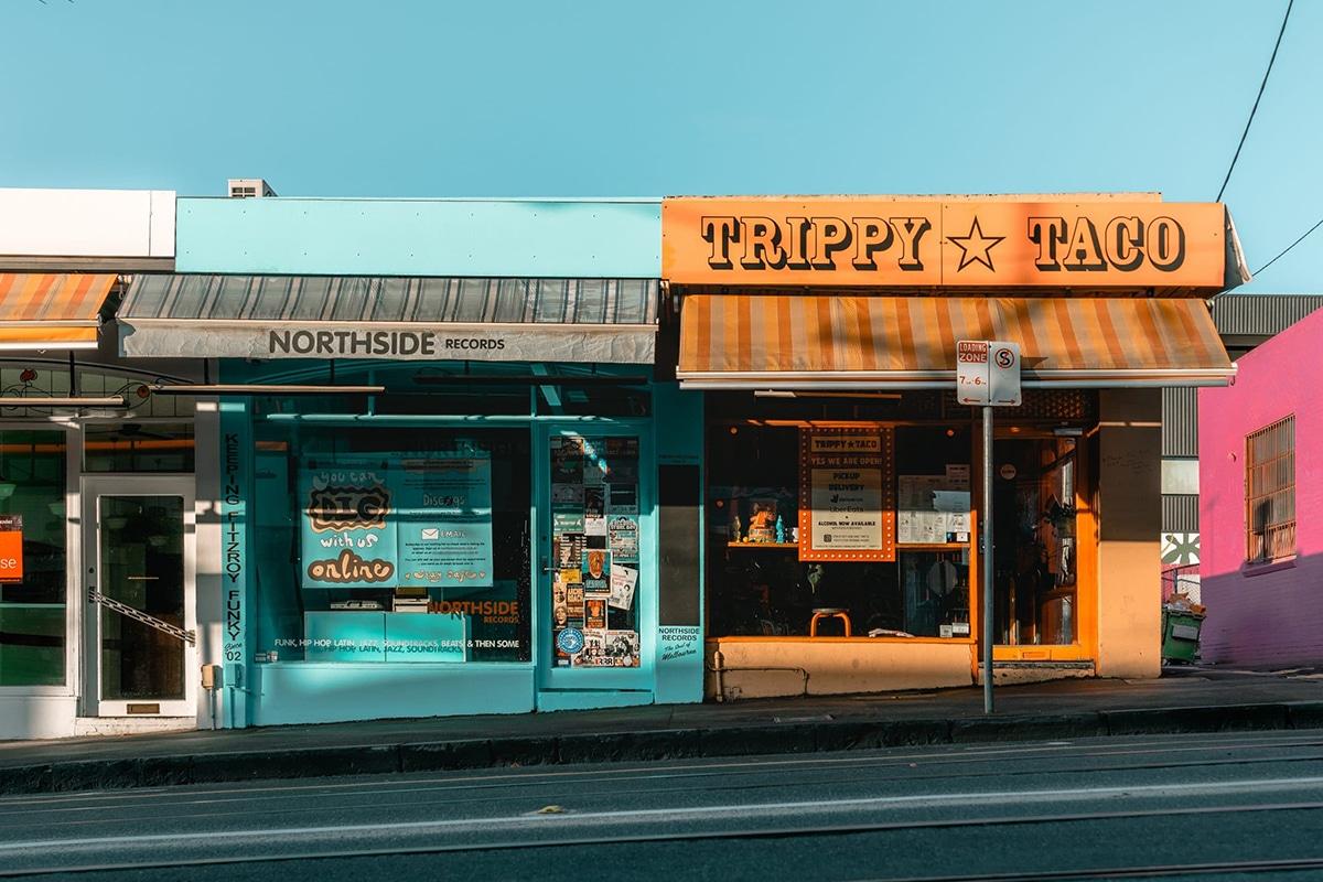 trippy taco street view