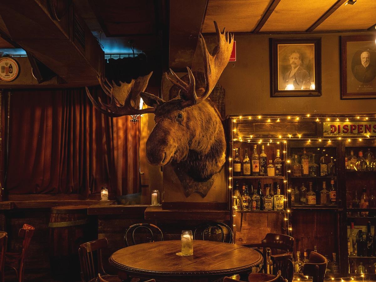 shady pines saloon interior