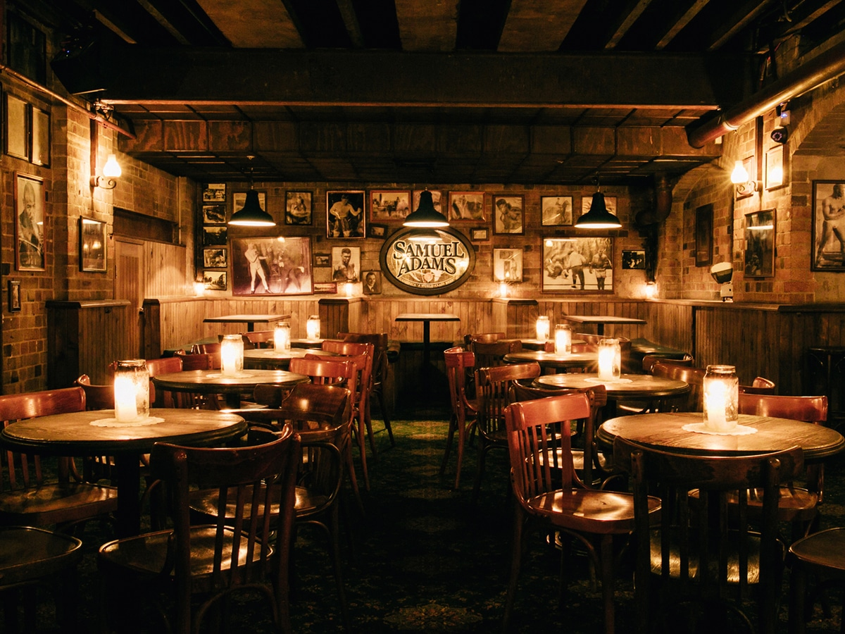 the baxter inn interior
