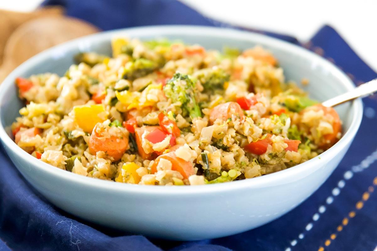 paleo breakfast fried rice