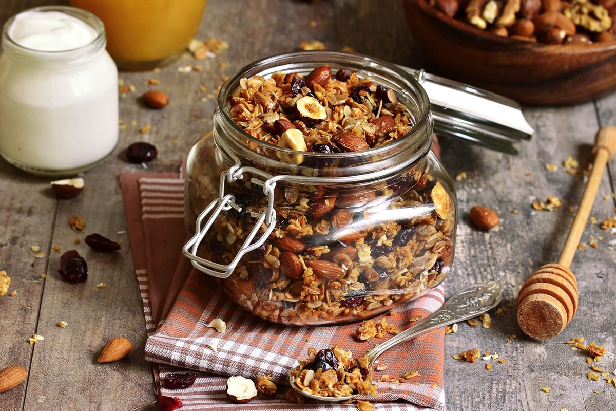 Best High Protein Snacks for On the Go Homemade granola