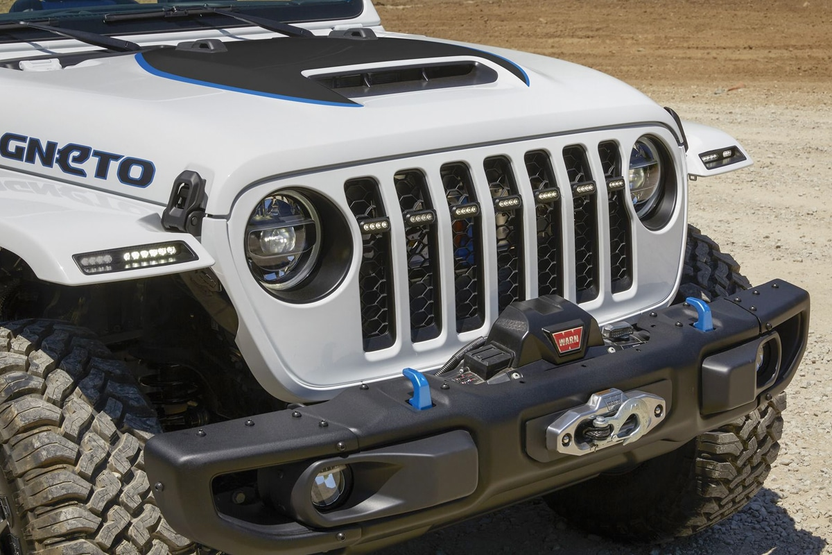 5 jeep magneto electric wrangler concept