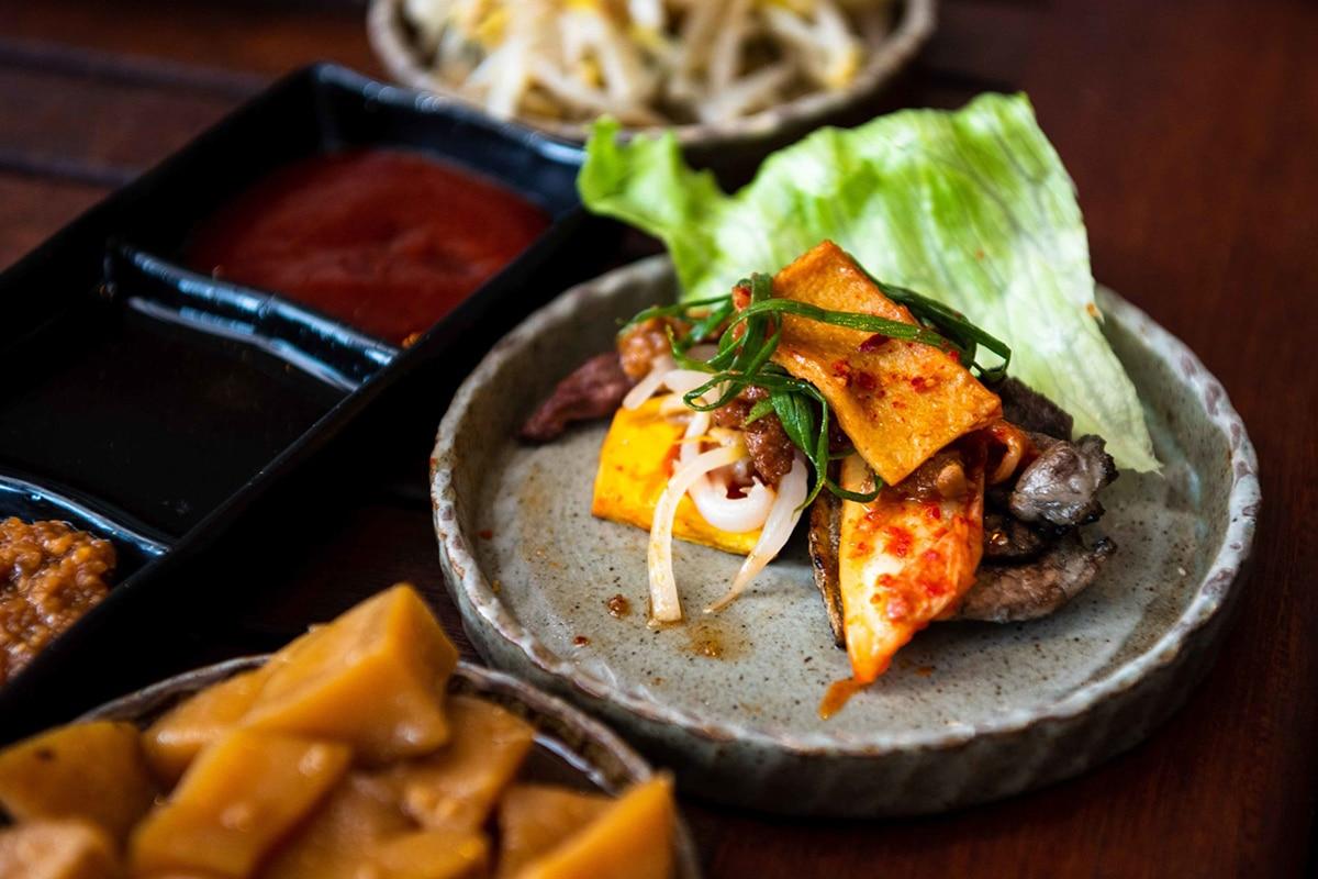 Best Korean BBQ in Perth K Town Restaurant