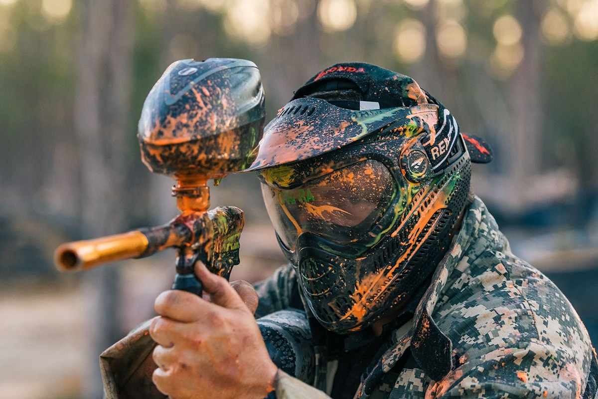 sydney paintball player