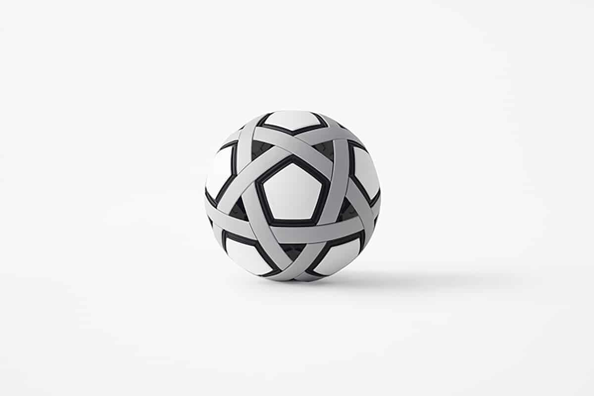 A Soccer Ball That Never Needs To Be Inflated