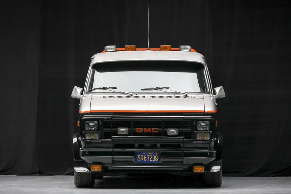 A Team Van up for auction front