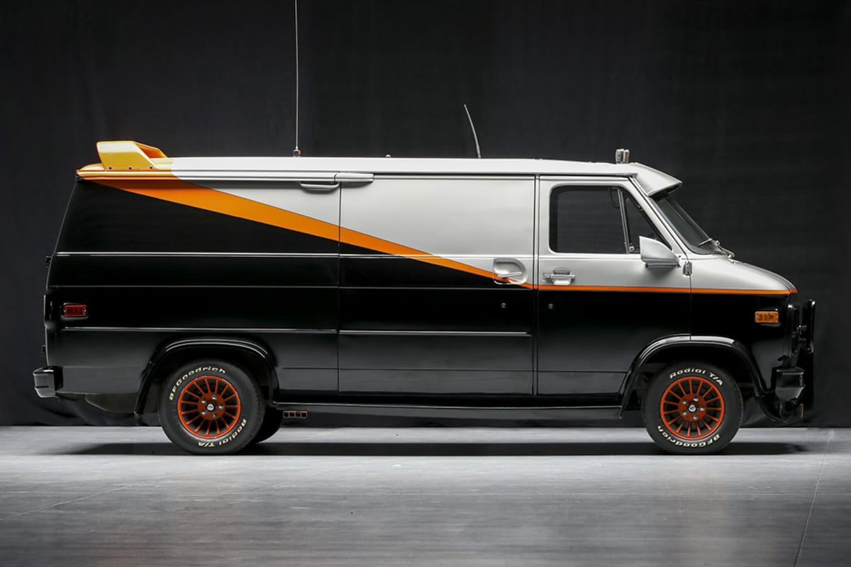 A Team Van up for auction