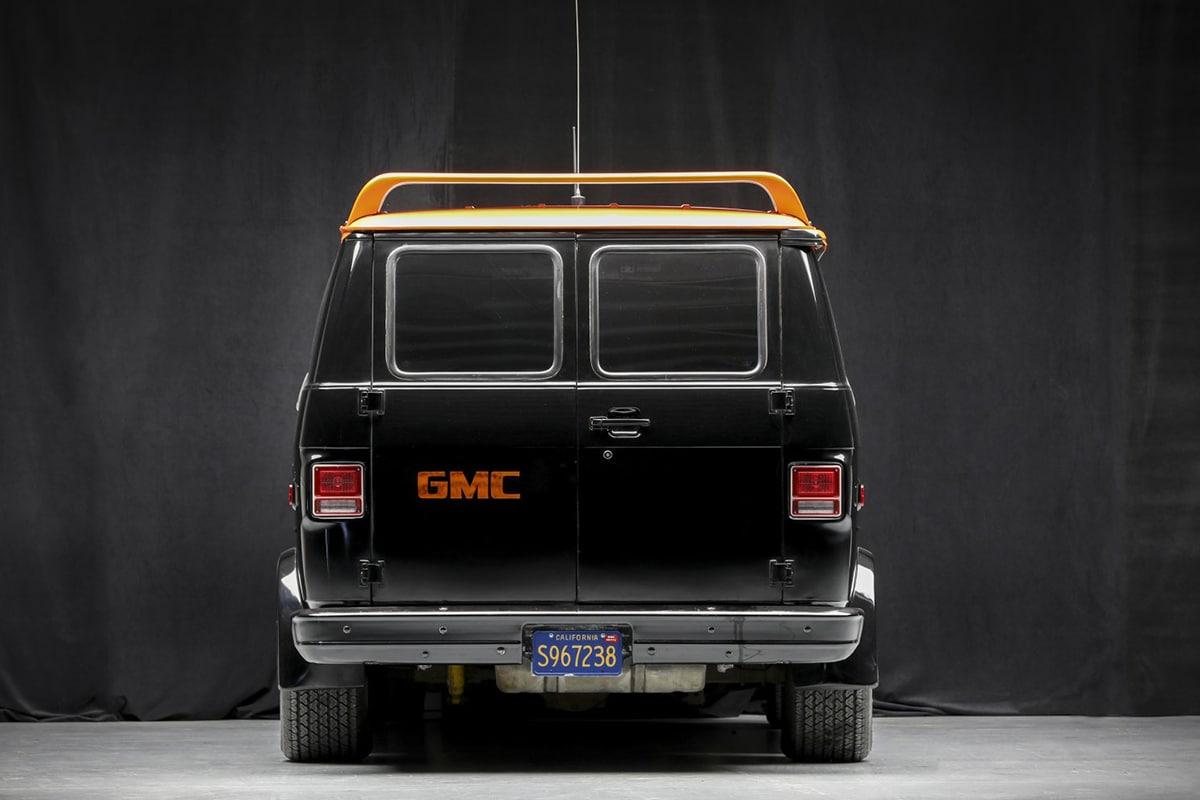 A Team Van up for auction back