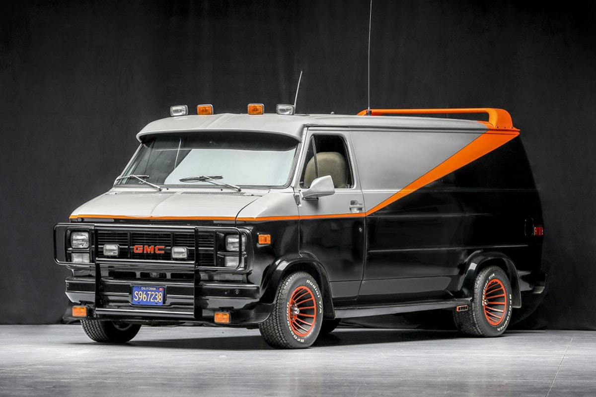 A Team Van up for auction vehicle