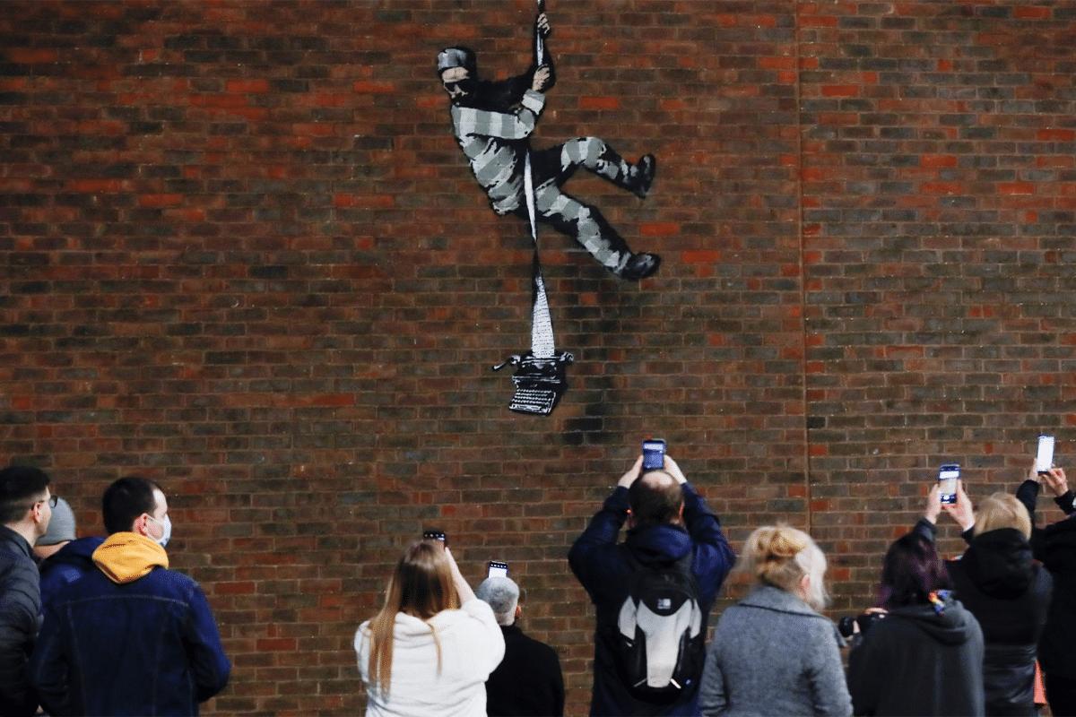 Banksy Prison Art 1
