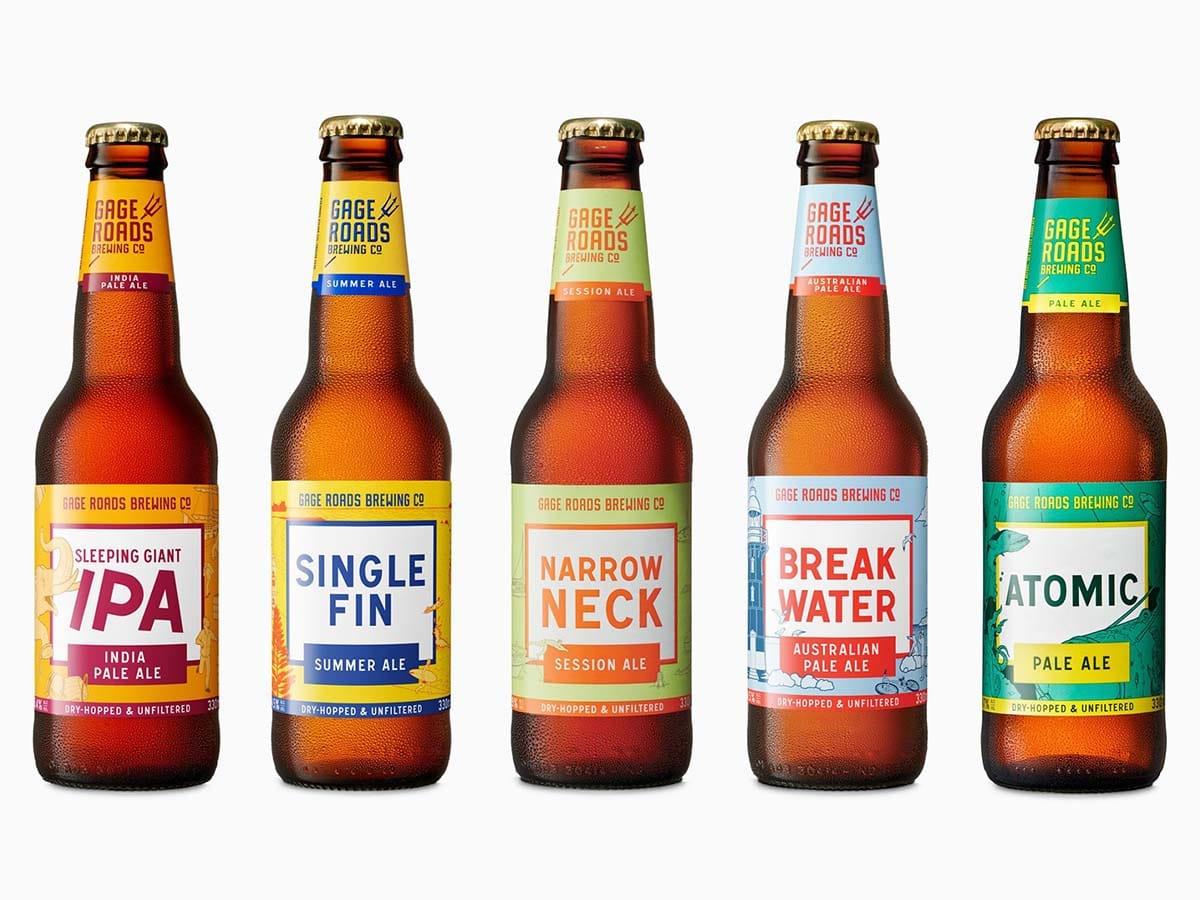 Best australian craft breweries gage roads