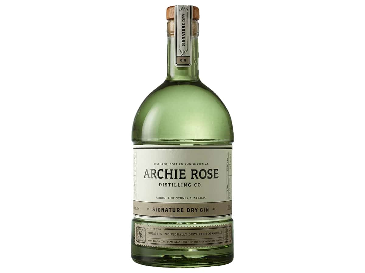 Best australian gins for the tonic of your dreams archie rose distilling co signature dry gin