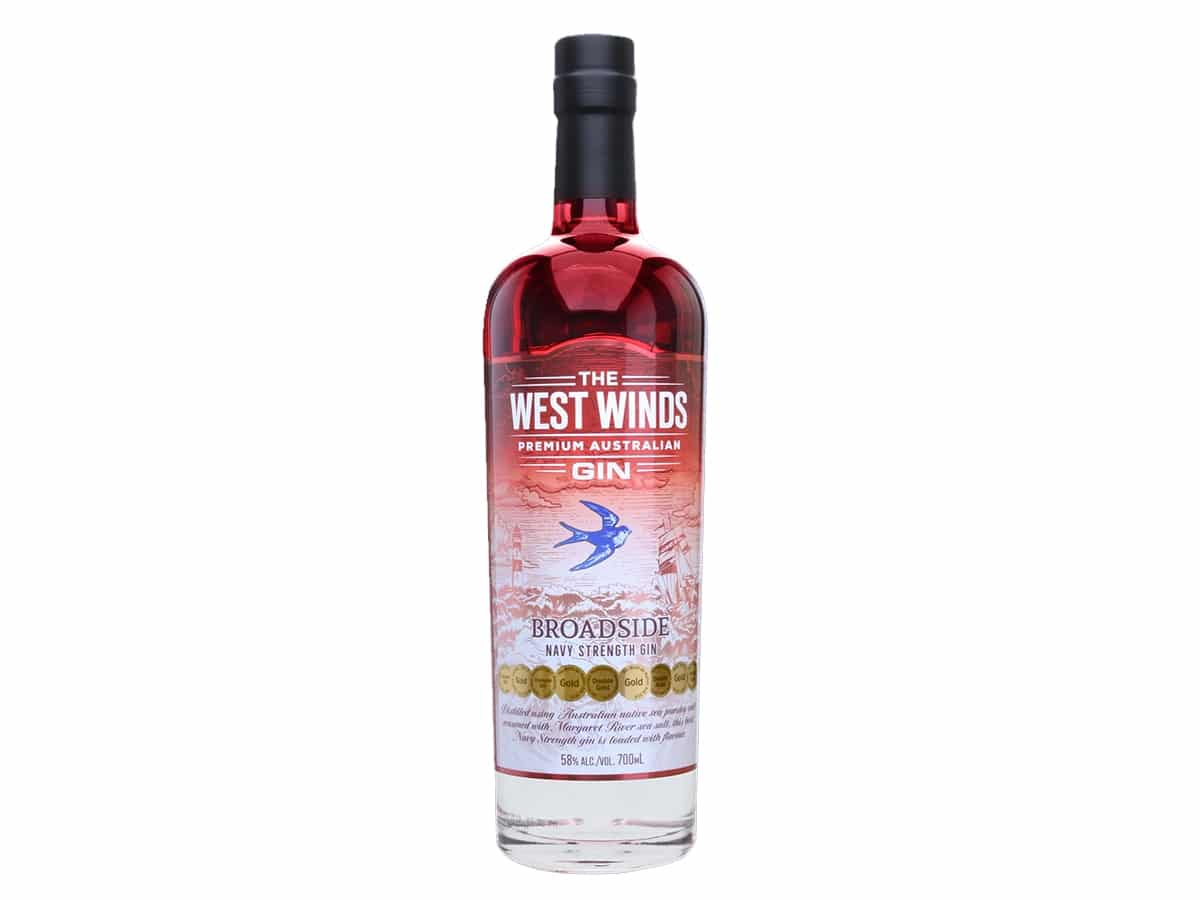 Best australian gins for the tonic of your dreams west winds the broadside navy strength