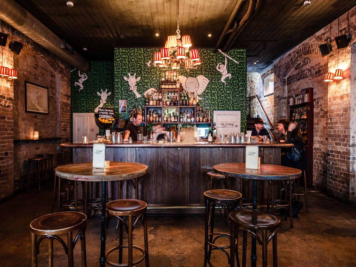 interior of The Wild Rover Bar Sydney