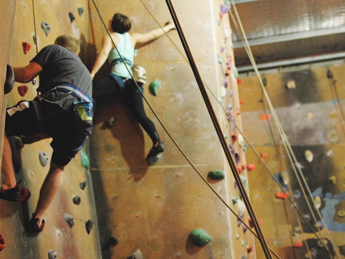 the climbing centre interior
