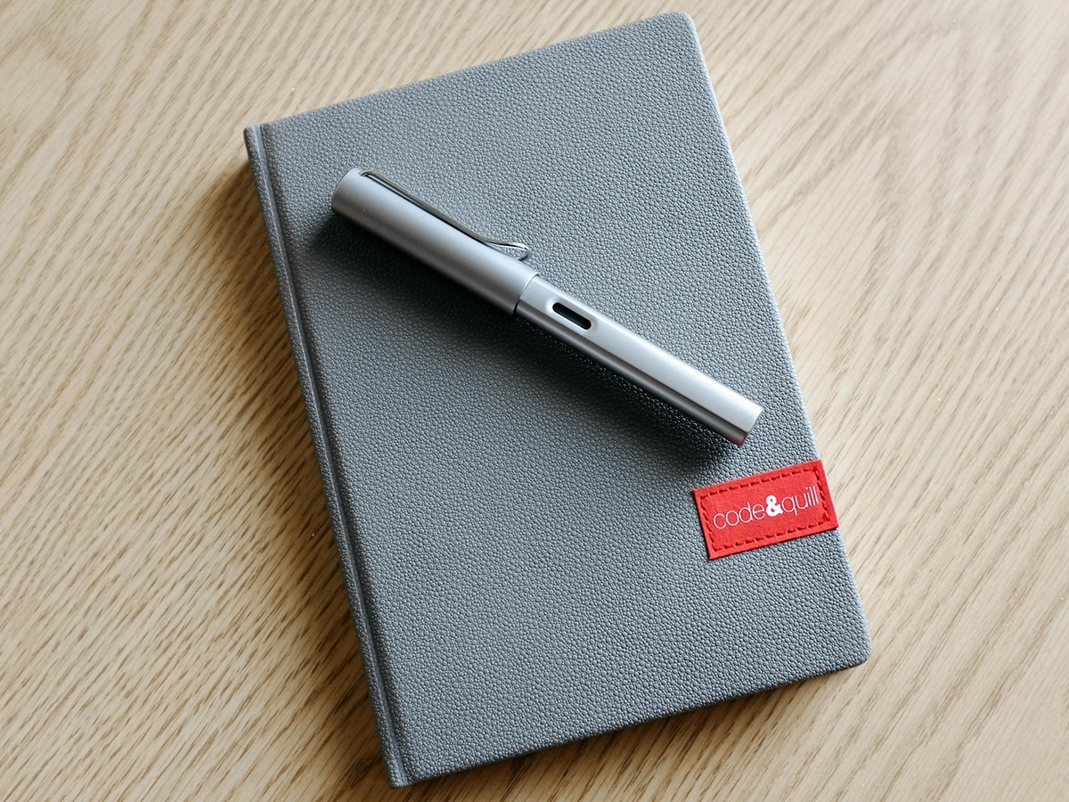 Best notebooks that are not moleskine code quill