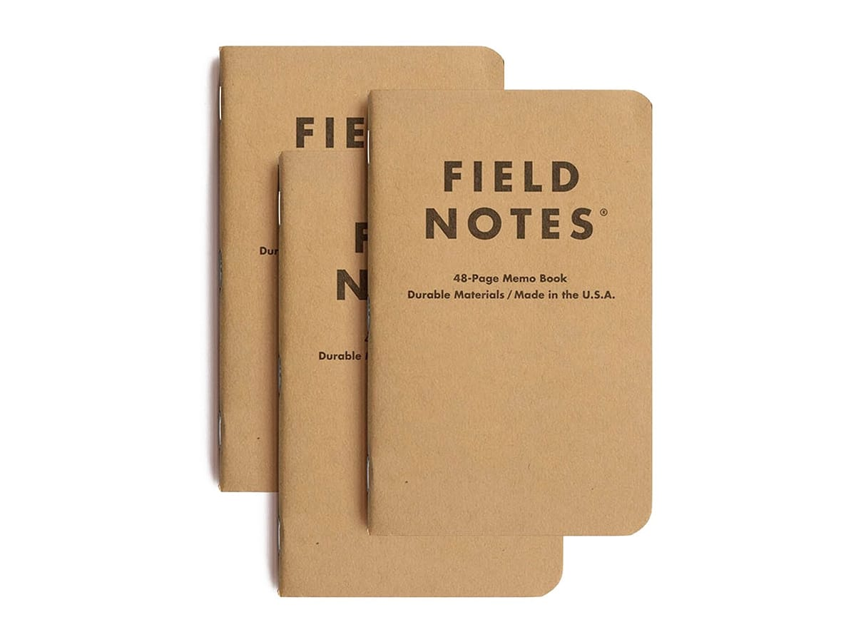 Best notebooks that are not moleskine field notes