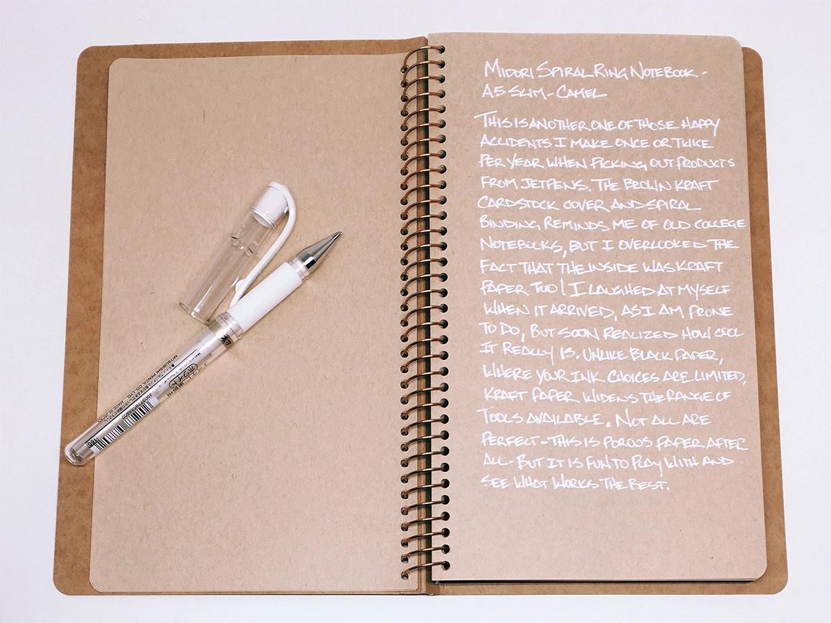 Best notebooks that are not moleskine midori spiral camel
