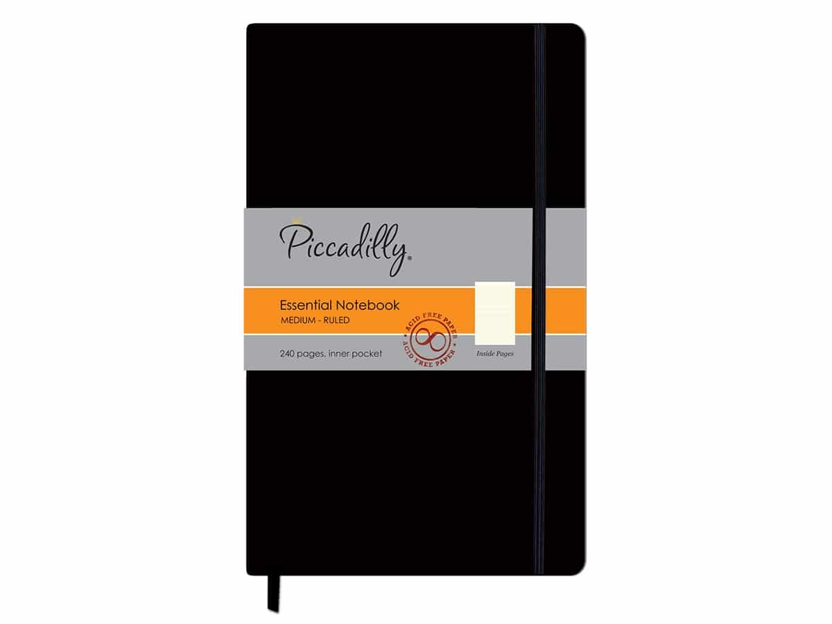 Best notebooks that are not moleskine piccadilly notebook