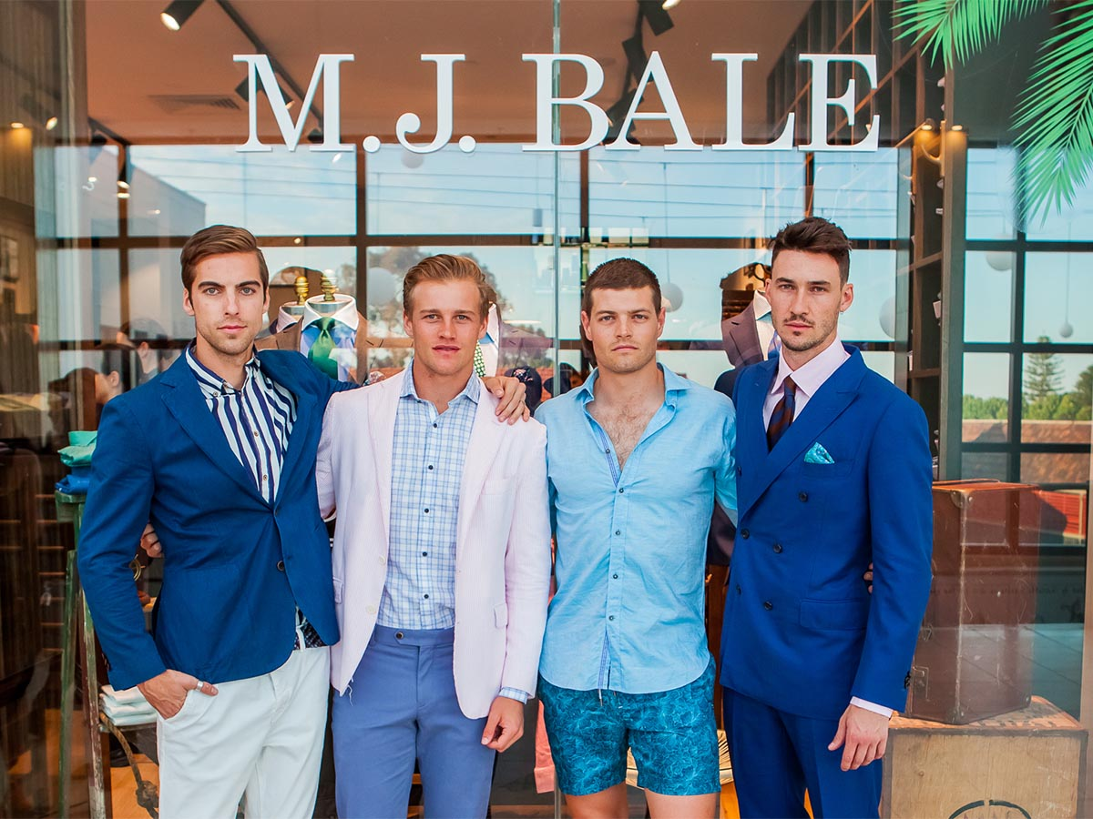 Best tailors and bespoke suit shops in adelaide m j bale