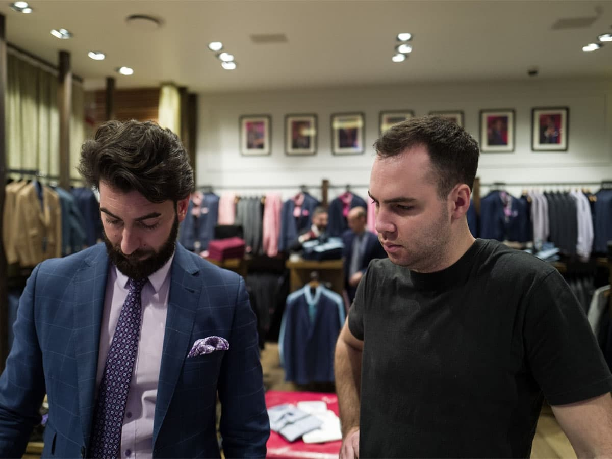Best tailors and bespoke suit shops in adelaide peter jackson